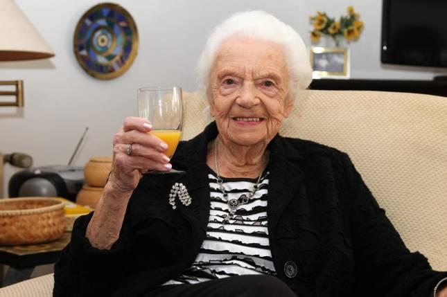 Liesbeth Kloss feiert 100. Geburtstag