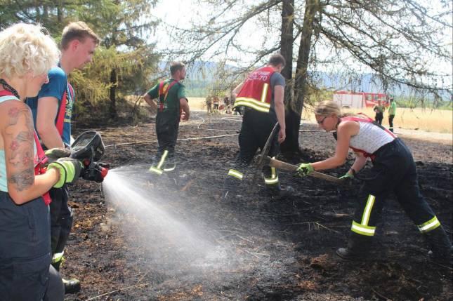21 Brandeinsätze bestimmten das Jahr