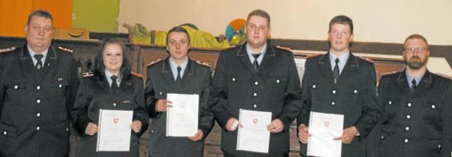Feuerwehr zieht positive Jahresbilanz