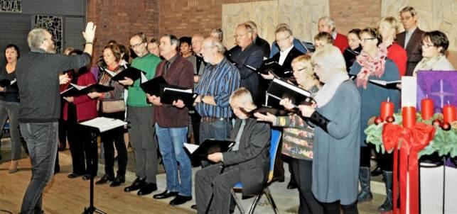 Kammerchor zu Gast bei Grotjahn-Stiftung