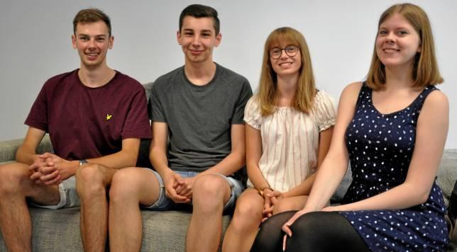 Die AGG feiert ihr Premieren-Abitur