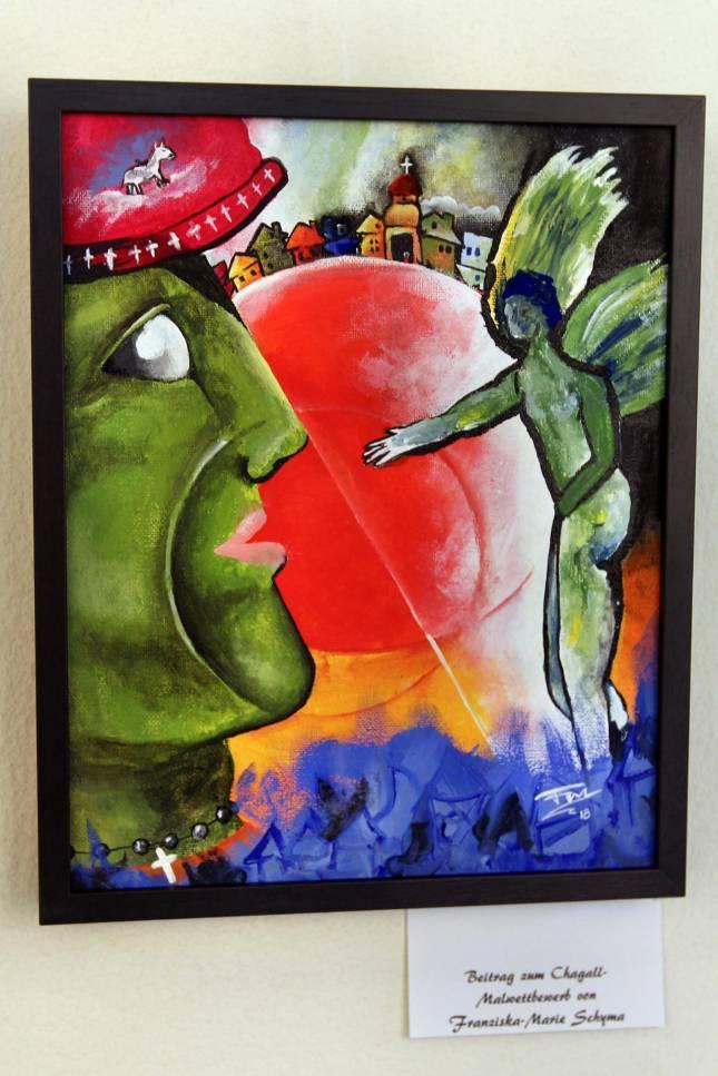 """Malen wie Marc Chagall"""