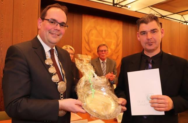 Jens Fiebig erhält Auszeichnung