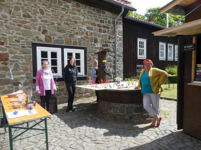 Kunsthandwerkerhof feiert Wiedereröffnung