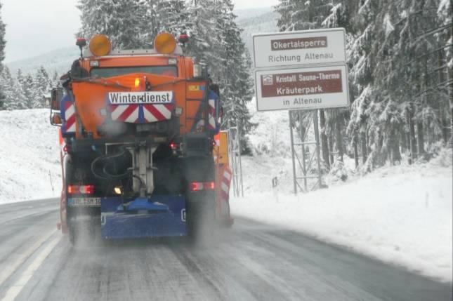 Winterausrüstung absolut notwendig