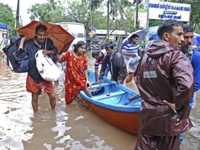 Südindien: Schlimmste Flut seit 100 Jahren