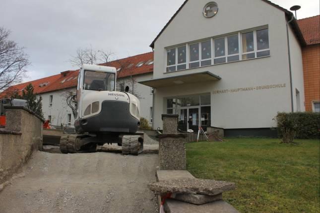 Neuer Zugang für Grundschule