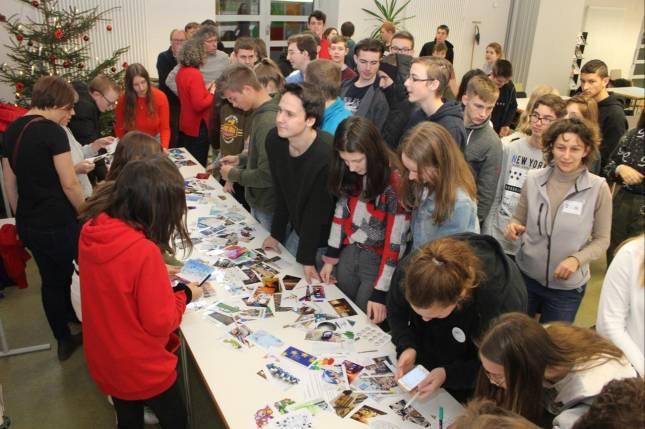 Erasmus-Partner treffen sich zum Austausch