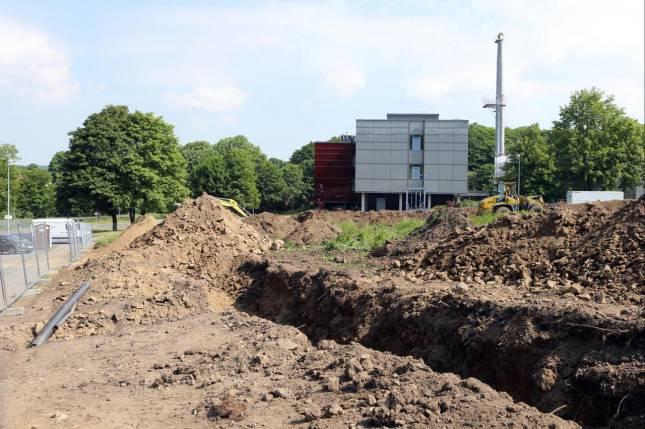 Baustart für Clausthaler Gründungszentrum