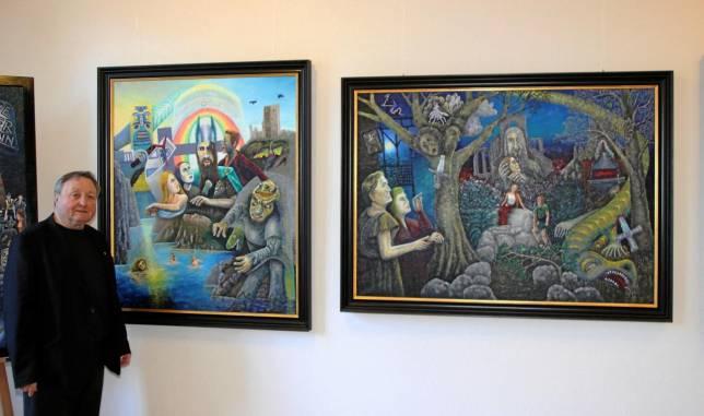 Fantasievolle Werke im Heimatmuseum