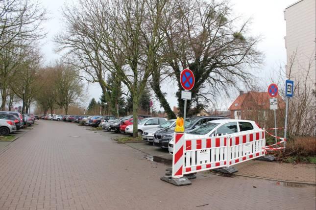 Parkplätze am Bahnhof werden gesperrt