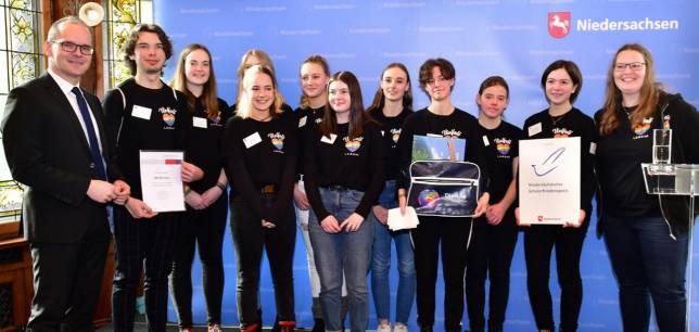 Harzburger Schüler erhalten Friedenspreis