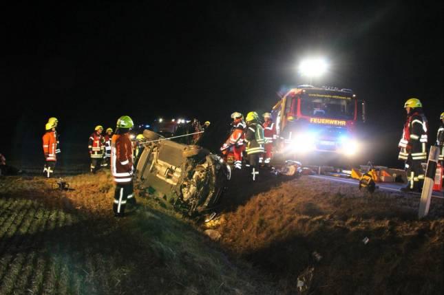 Zwei Frauen bei Unfall verletzt