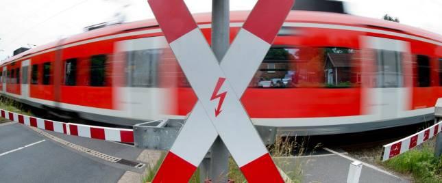 Bahnmitarbeiter verhindert Zusammenstoß