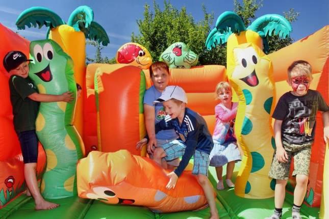 Sommerfest im Kleingarten