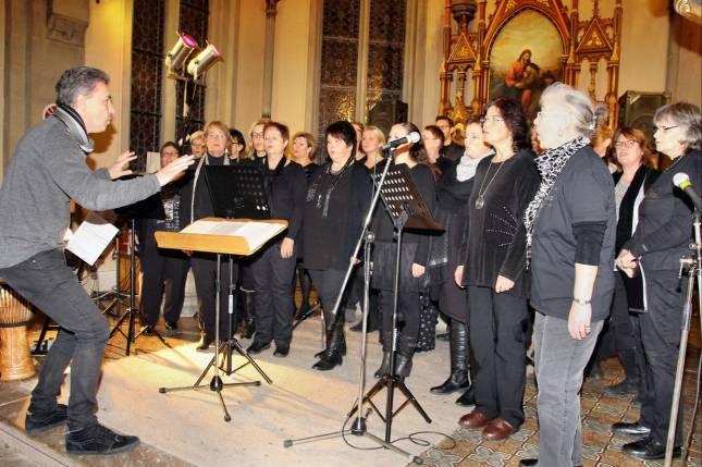 Gospel-Konzert für eine gerechtere Welt