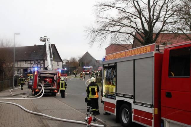 Zwei Schornsteinbrände in Bodenstein