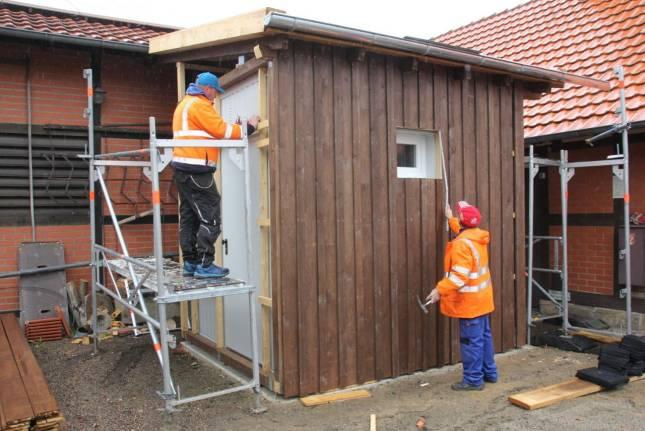 WC-Container für das Heimatmuseum