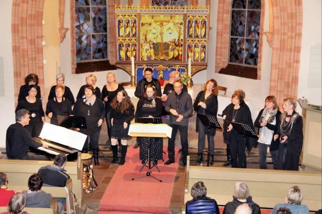 """""""Smart Voices""""  in der Kirche Klein Mahner"""