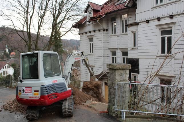 Ruinen-Abriss soll am Mittwoch beginnen