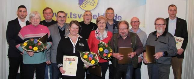 TSV Gielde steigert die Mitgliederzahl