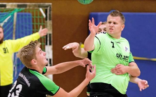 Hochbetrieb bei den Handballern